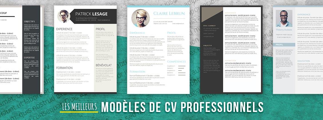 meilleurs modeles de CV professionnels