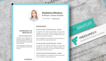 modele cv simple et plaisant