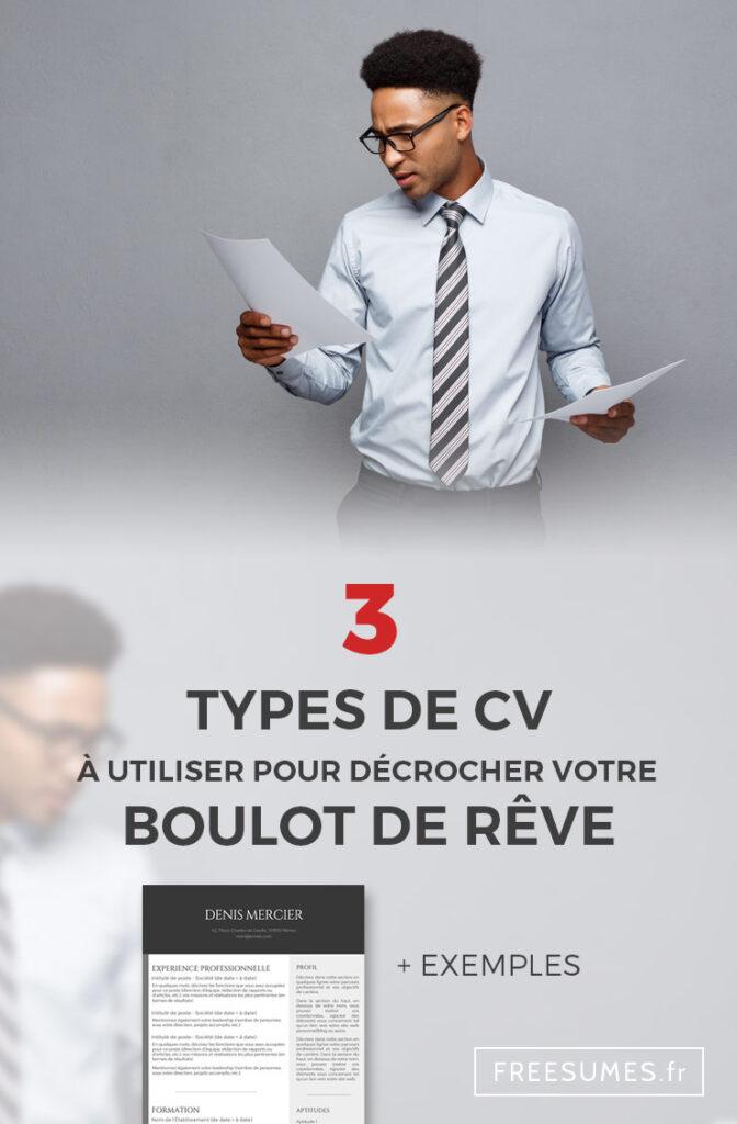 types de CV